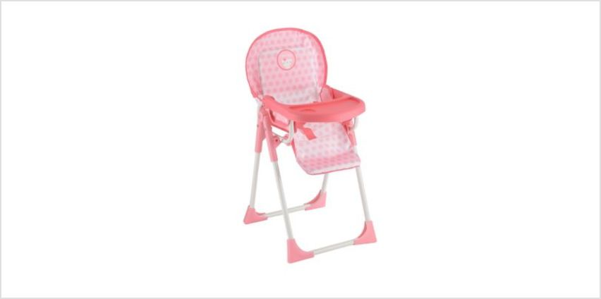 Cupcake Highchair | baby dolls & accessories | ELC from Early Learning Center