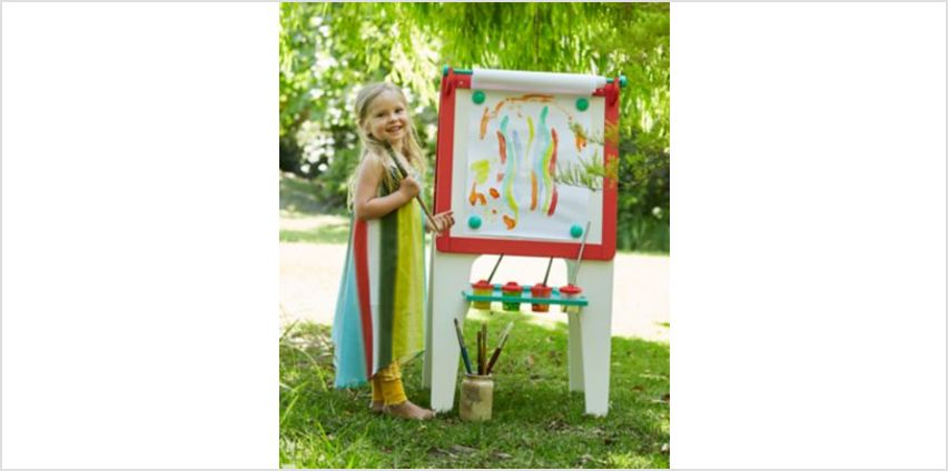 Double Sided Wooden Easel | easels & furniture | ELC from Early Learning Center