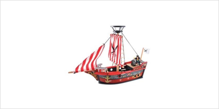 Wooden Pirate Ship | pirates & ships | ELC from Early Learning Center