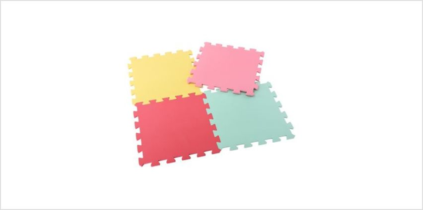 Pink Recreation Mats - 4 Pack | activity gym | ELC from Early Learning Center