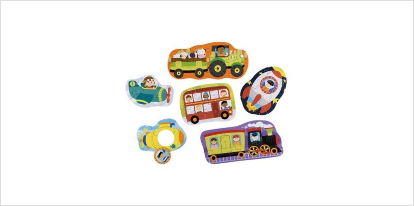 Vehicle Puzzles | children's jigsaws & puzzles | ELC from Early Learning Center