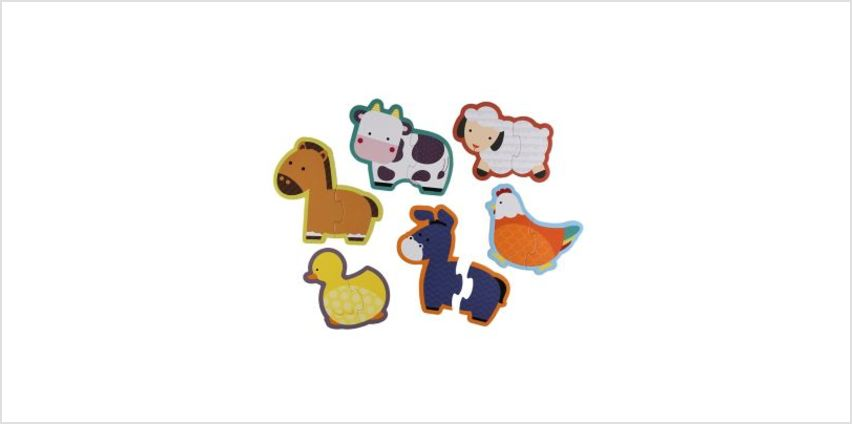 Farm Animal Puzzles | children's jigsaws & puzzles | ELC from Early Learning Center