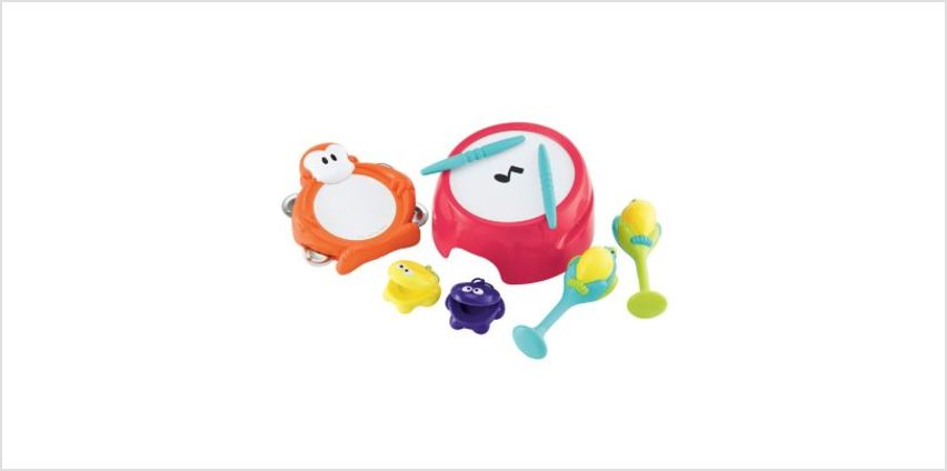 Jungle Beats Percussion Set | percussion instruments | ELC from Early Learning Center