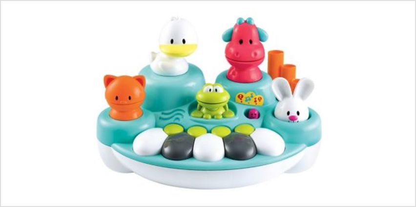 Singing Animal Keyboard   interactive light & sound toys   ELC from Early Learning Center