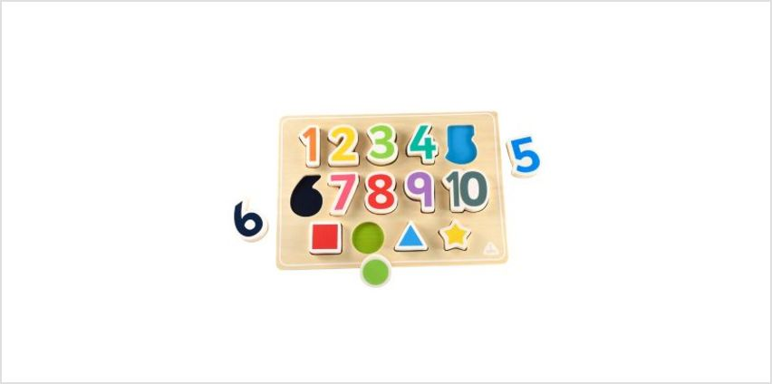 Shape And Number Puzzle | children's jigsaws & puzzles | ELC from Early Learning Center