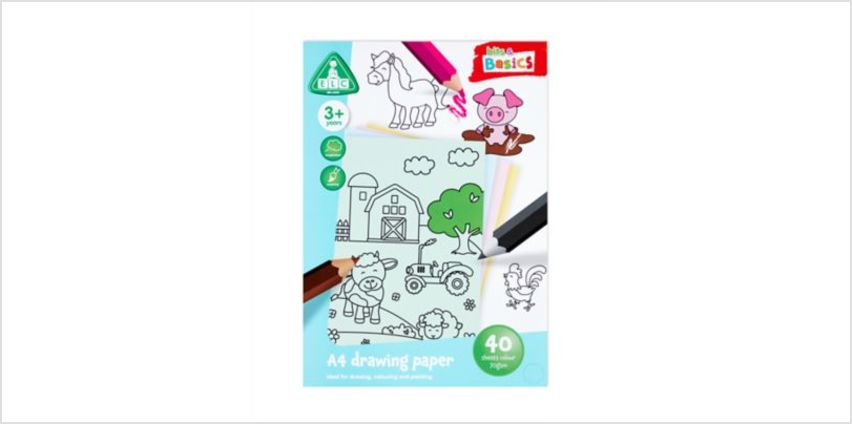 A4 Coloured Paper 40 Sheets | art essentials | ELC from Early Learning Center
