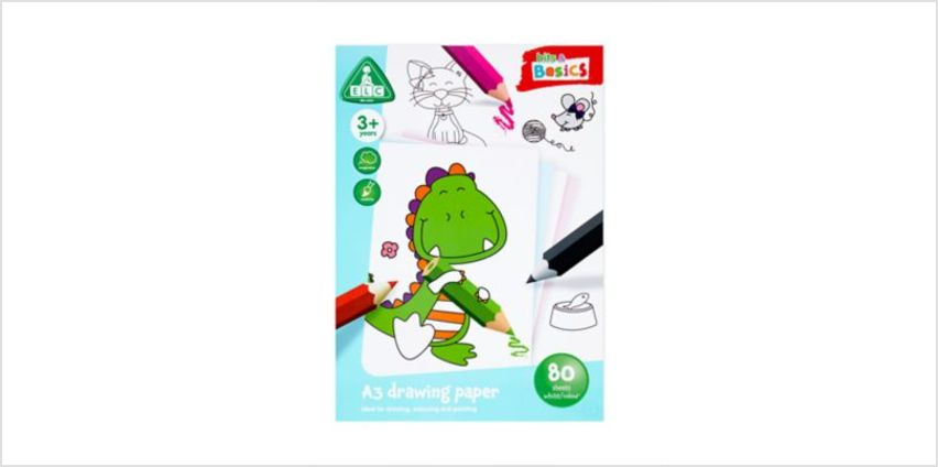 A3 Coloured Paper 80 Sheets | art essentials | ELC from Early Learning Center