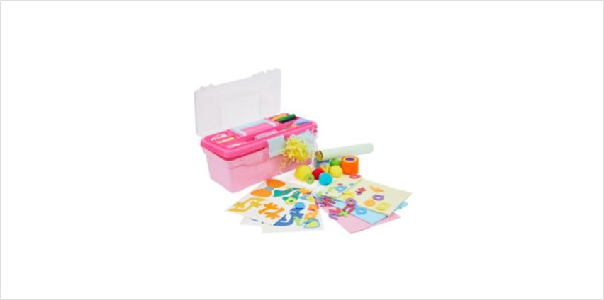 Collage Toolbox - Pink | craft kits | ELC from Early Learning Center
