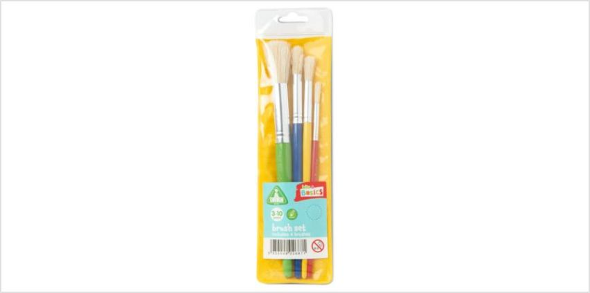Paint Brush Set - 4 Pack   paint & paint brushes   ELC from Early Learning Center