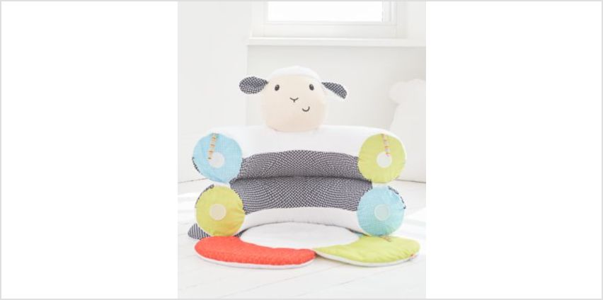 Blossom Farm Lily Lamb Sit Me Up Cosy | baby gyms & playmats | ELC from Early Learning Center