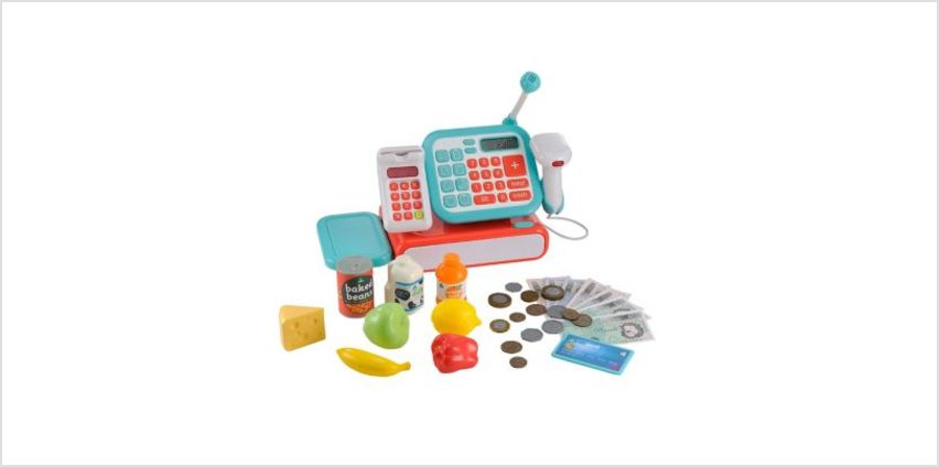 Cash Register - Blue | cash registers | ELC from Early Learning Center