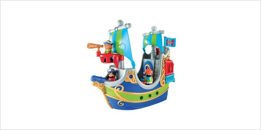 Happyland Pirate Ship | playsets | ELC from Early Learning Center