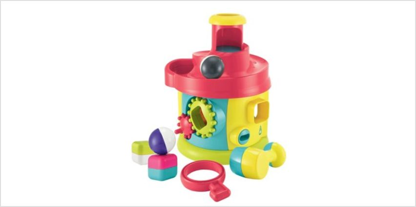 Twist and Turn Activity House | shapes sorters & stackers | ELC from Early Learning Center