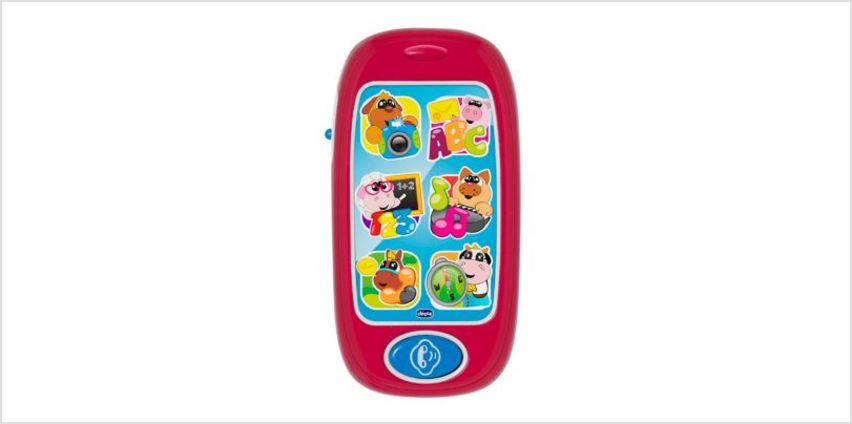 Chicco Animal Smart Phone | interactive light & sound toys | ELC from Early Learning Center