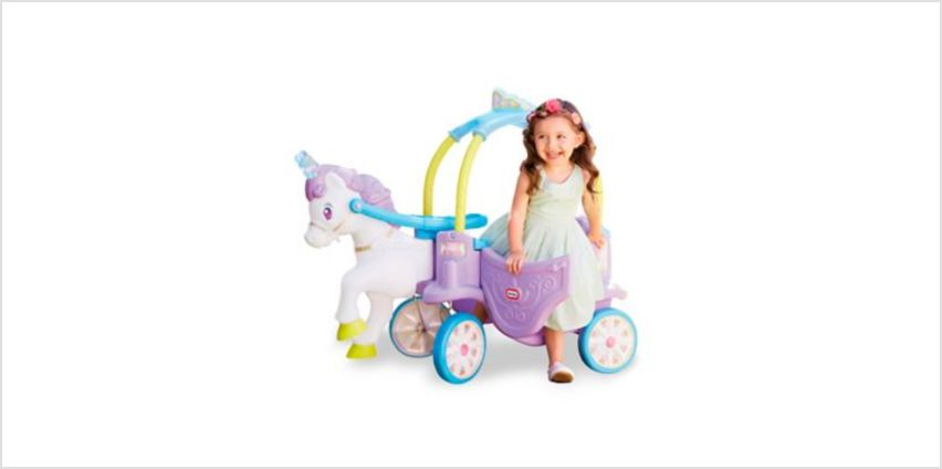 Little Tikes Unicorn Cozy Coupe | ride ons & easy wheels | ELC from Early Learning Center
