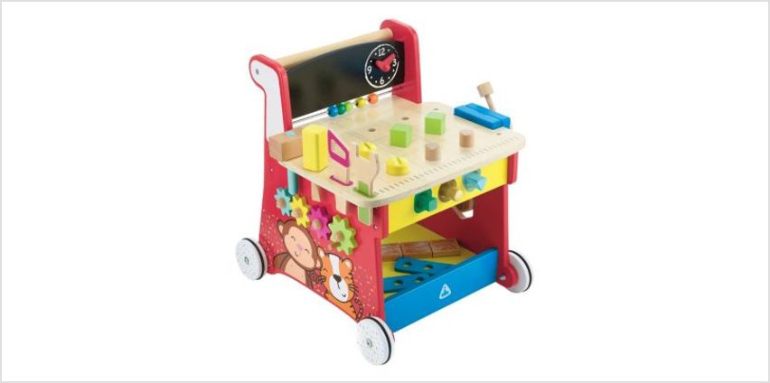 Wooden Activity Workbench | classic wooden toys | ELC from Early Learning Center