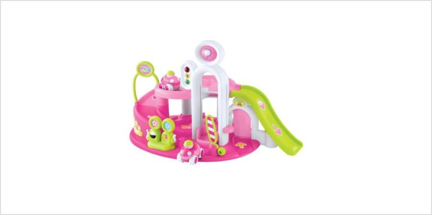 Whizz World Pink Lights and Sounds Garage | garages | ELC from Early Learning Center