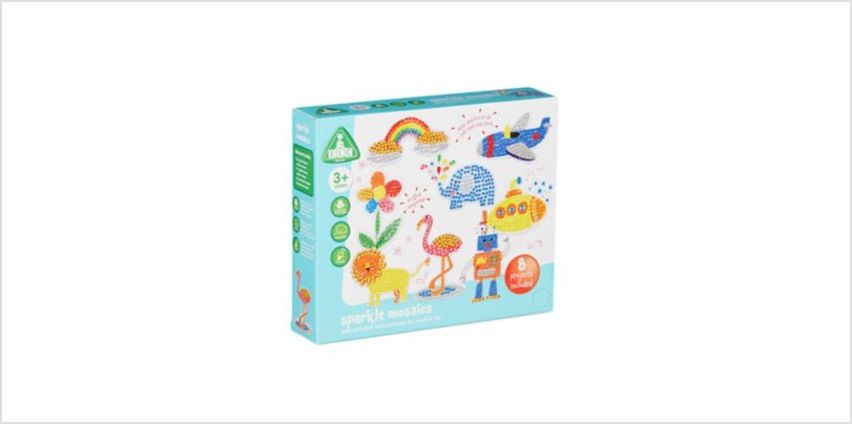 Sparkle Mosaics Kit   craft kits   ELC from Early Learning Center