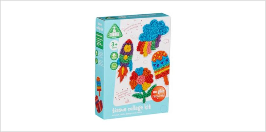 Tissue Collage Kit | craft kits | ELC from Early Learning Center