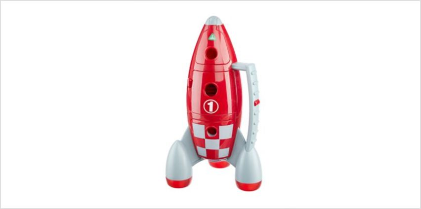 Happyland Lights And Sounds Lift Off Rocket | imaginative playsets | ELC from Early Learning Center
