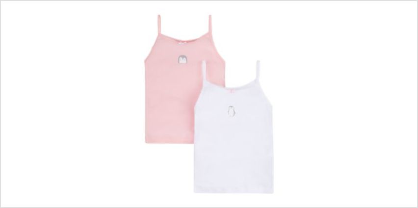 penguin vests - 2 pack from Mothercare