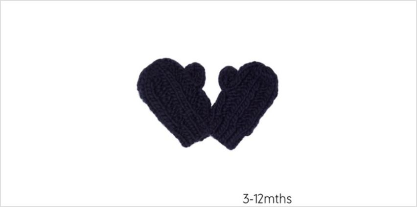 navy converter gloves from Mothercare