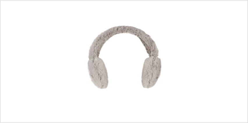 grey pearl ear muffs from Mothercare