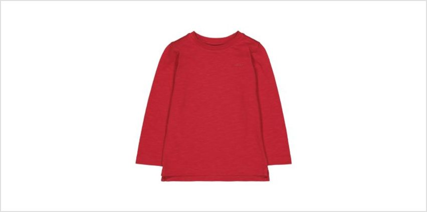 red t-shirt from Mothercare