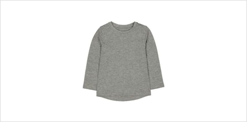 grey t-shirt from Mothercare