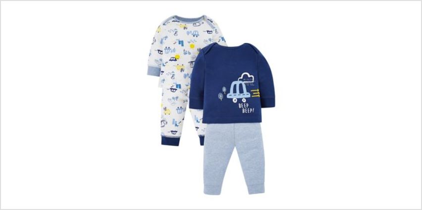 on the road pyjamas - 2 pack from Mothercare