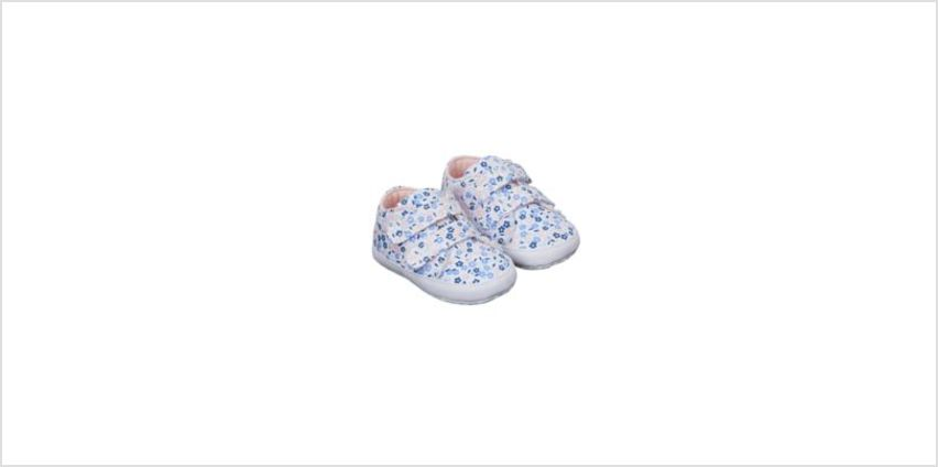 floral canvas pram shoes from Mothercare