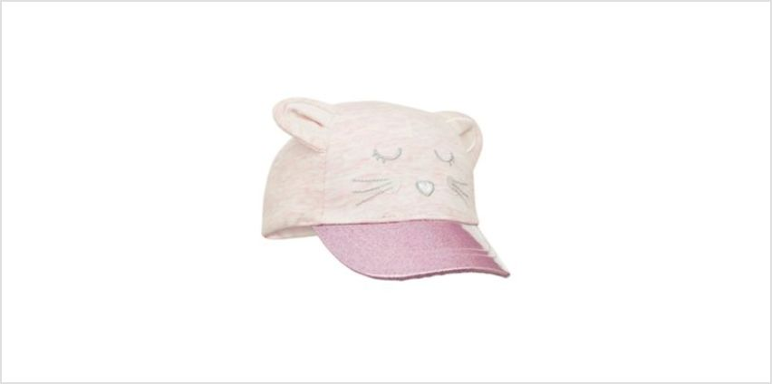 pink mouse glitter cap from Mothercare