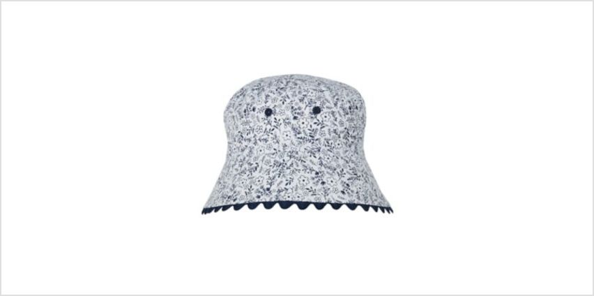 back to nursery floral fisherman sun hat from Mothercare