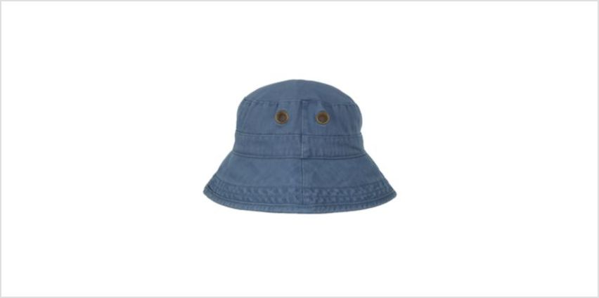 washed eyelet fisherman hat from Mothercare