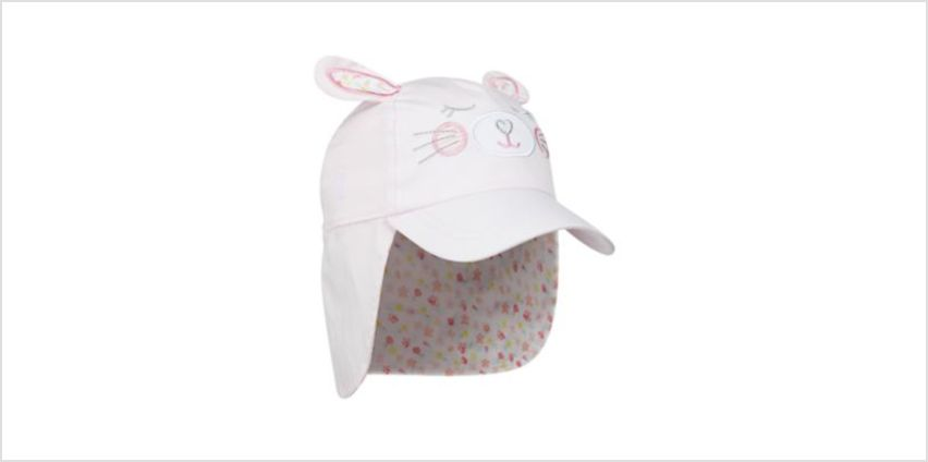 pink bunny keppi hat from Mothercare