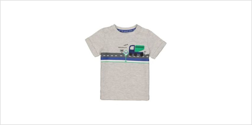 truck grey t-shirt from Mothercare