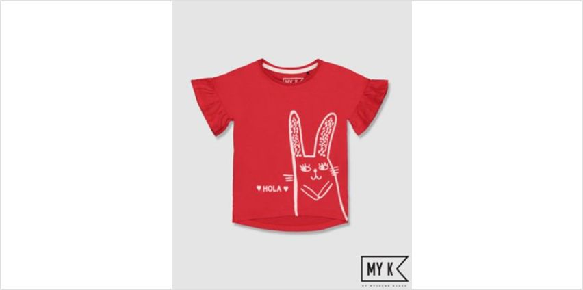 my k hola! bunny t-shirt from Mothercare