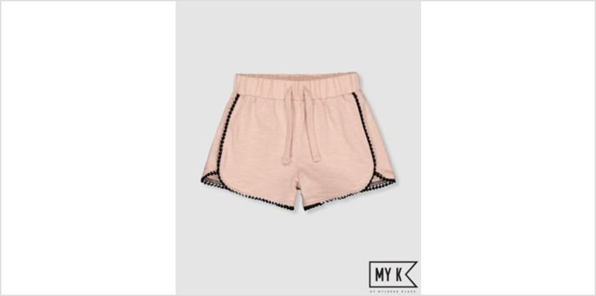 my k pink and red shorts from Mothercare