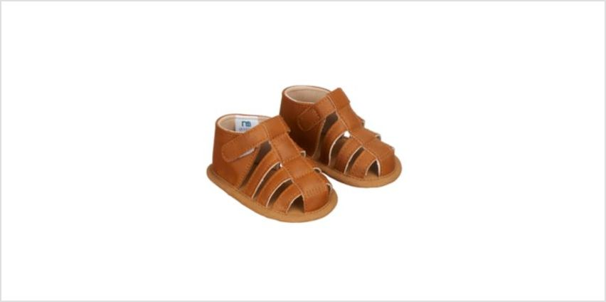 tan fisherman baby sandals from Mothercare