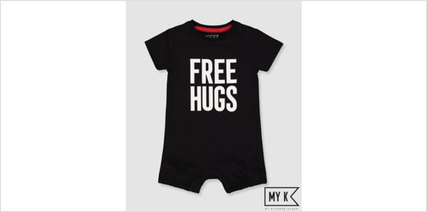 my k free hugs romper from Mothercare