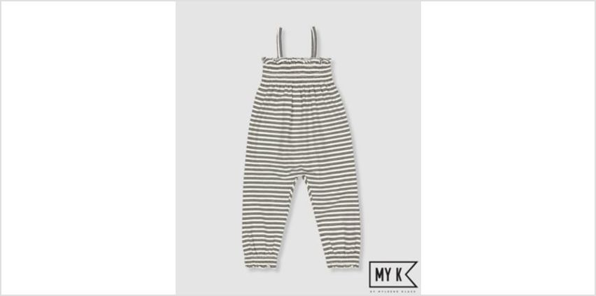 my k striped jumpsuit from Mothercare