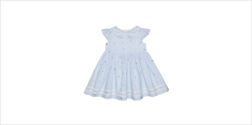 blue striped dress from Mothercare