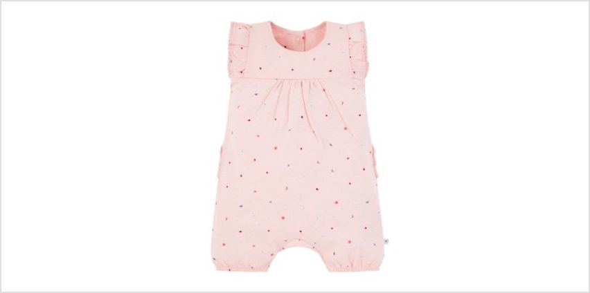 pink seaside romper from Mothercare