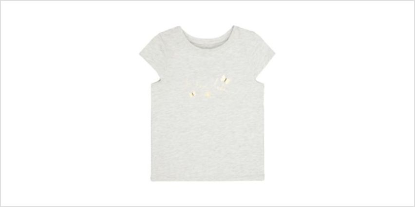 grey i love you t-shirt from Mothercare