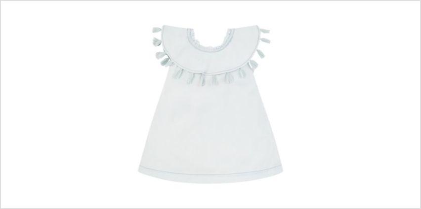 bleach-wash denim bardot dress from Mothercare