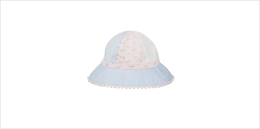 pretty patchwork sun hat from Mothercare