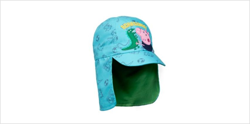 george pig sun protection keppi hat from Mothercare