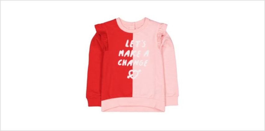 make a change frilled top from Mothercare