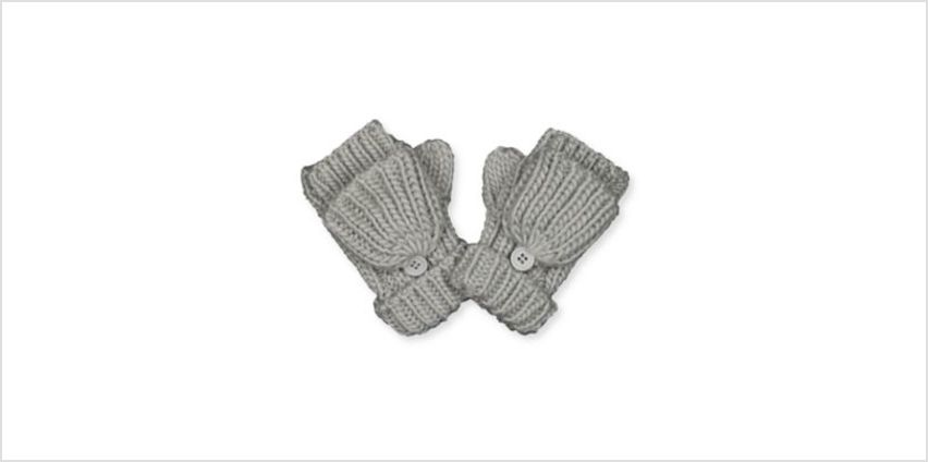 grey converter mitts from Mothercare