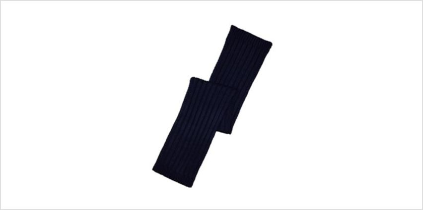 navy colourblock scarf from Mothercare